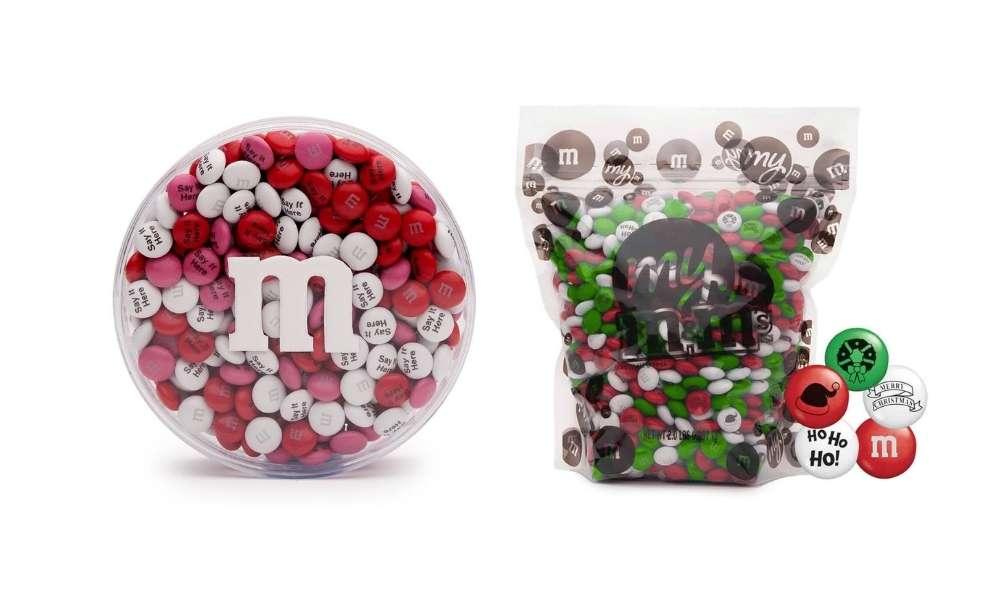 idea regalo M&M's personalizzati